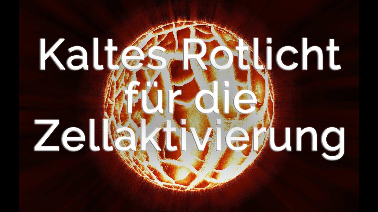 Kaltes Rotlicht: Der Cellalux Pulser aktiviert den Körperstrom!